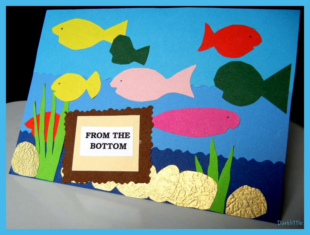 fish birthday card craft – Fish Birthday Cards