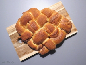 Heart-shaped Challah